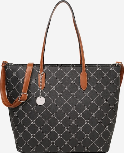 TAMARIS Shopper 'Anastasia' in karamell / hellgrau / schwarz, Produktansicht
