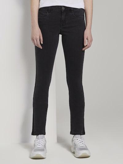 TOM TAILOR Jeanshosen Alexa Slim Jeans in schwarz, Modelansicht