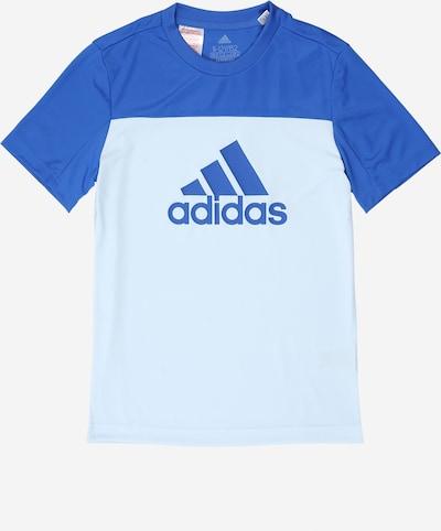 Sportiniai marškinėliai iš ADIDAS PERFORMANCE , spalva - šviesiai mėlyna, Prekių apžvalga