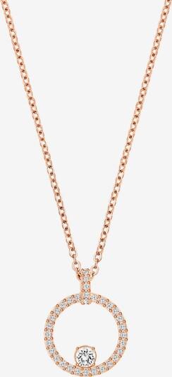 rózsaszín arany / fehér Swarovski Lánc, Termék nézet