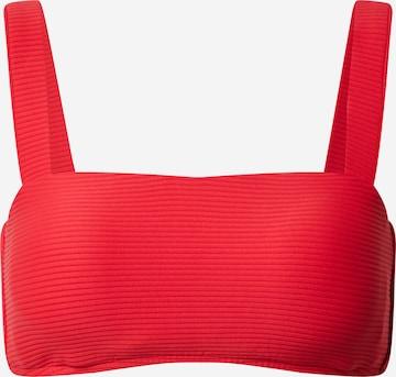 Seafolly Bikini Top in Red