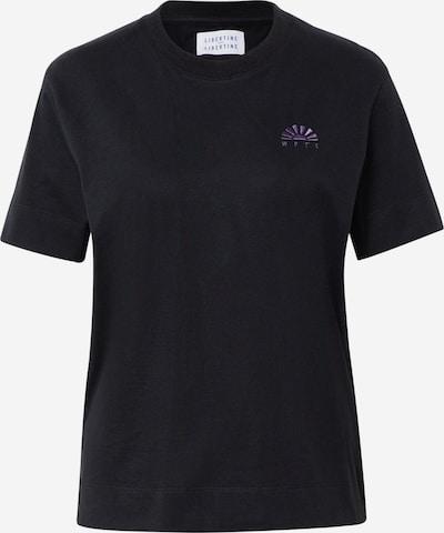 Libertine-Libertine T-shirt 'Wonder' en noir, Vue avec produit