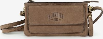 KLONDIKE 1896 Schultertasche 'Lara' in braun, Produktansicht