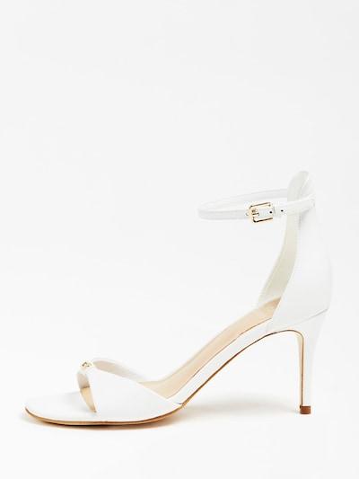GUESS Sandalette in perlweiß, Produktansicht