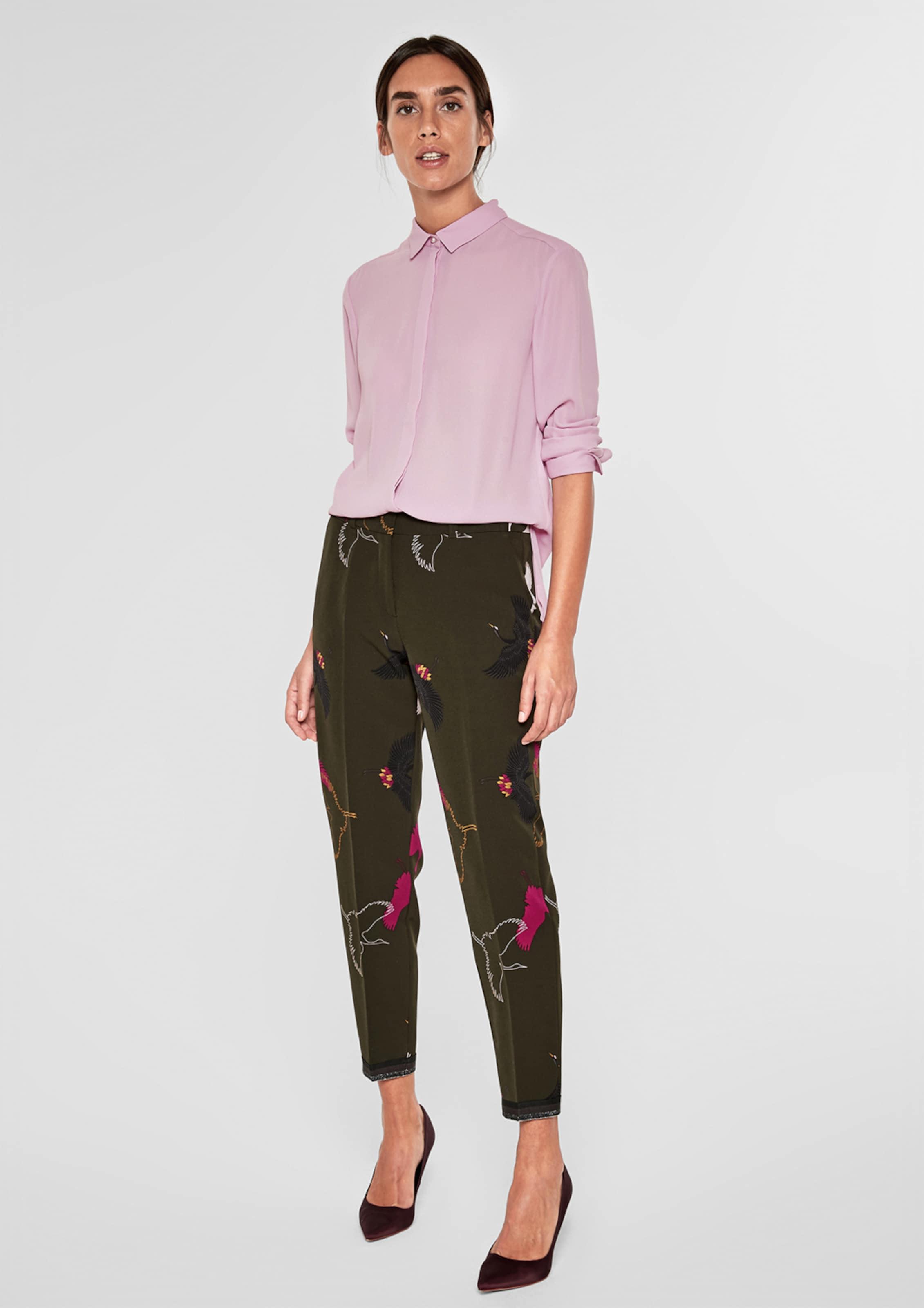 oliver Label Hellpink Bluse S Black In UMSGpqzV