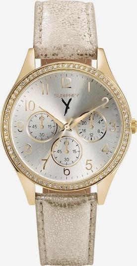 Suri Frey Analoog horloge 'Nelly' in de kleur Goud / Zwart / Zilver, Productweergave