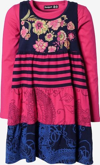 Desigual Kleid + Shirt in dunkelblau / pink, Produktansicht