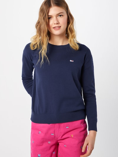 Tommy Jeans Pullover in navy, Modelansicht