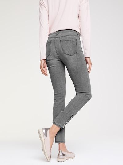 heine Jeansy w kolorze szary denimm: Widok od tyłu