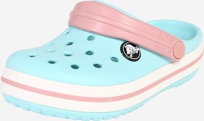 Crocs Clogs in hellblau / altrosa, Produktansicht