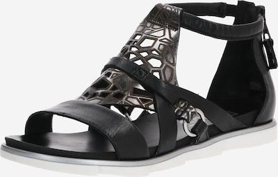 JOLANA & FENENA Sandale 'KATANA' in schwarz, Produktansicht