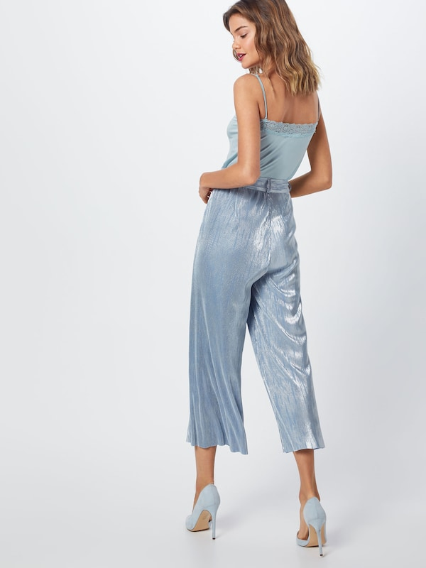 Party Pop En 'rippled Copenhagen Bleu Clair Pantalon Trousers' USVpzM