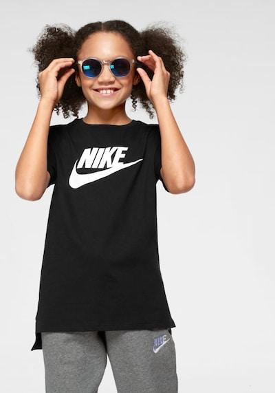 Marškinėliai 'Futara' iš Nike Sportswear , spalva - juoda / balta: Vaizdas iš priekio