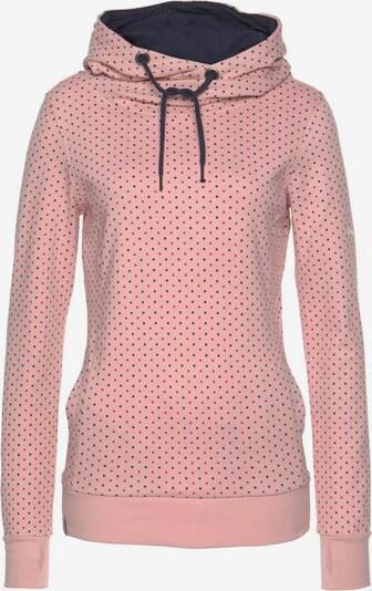 KangaROOS Kapuzensweatshirt in rosa / schwarz, Produktansicht