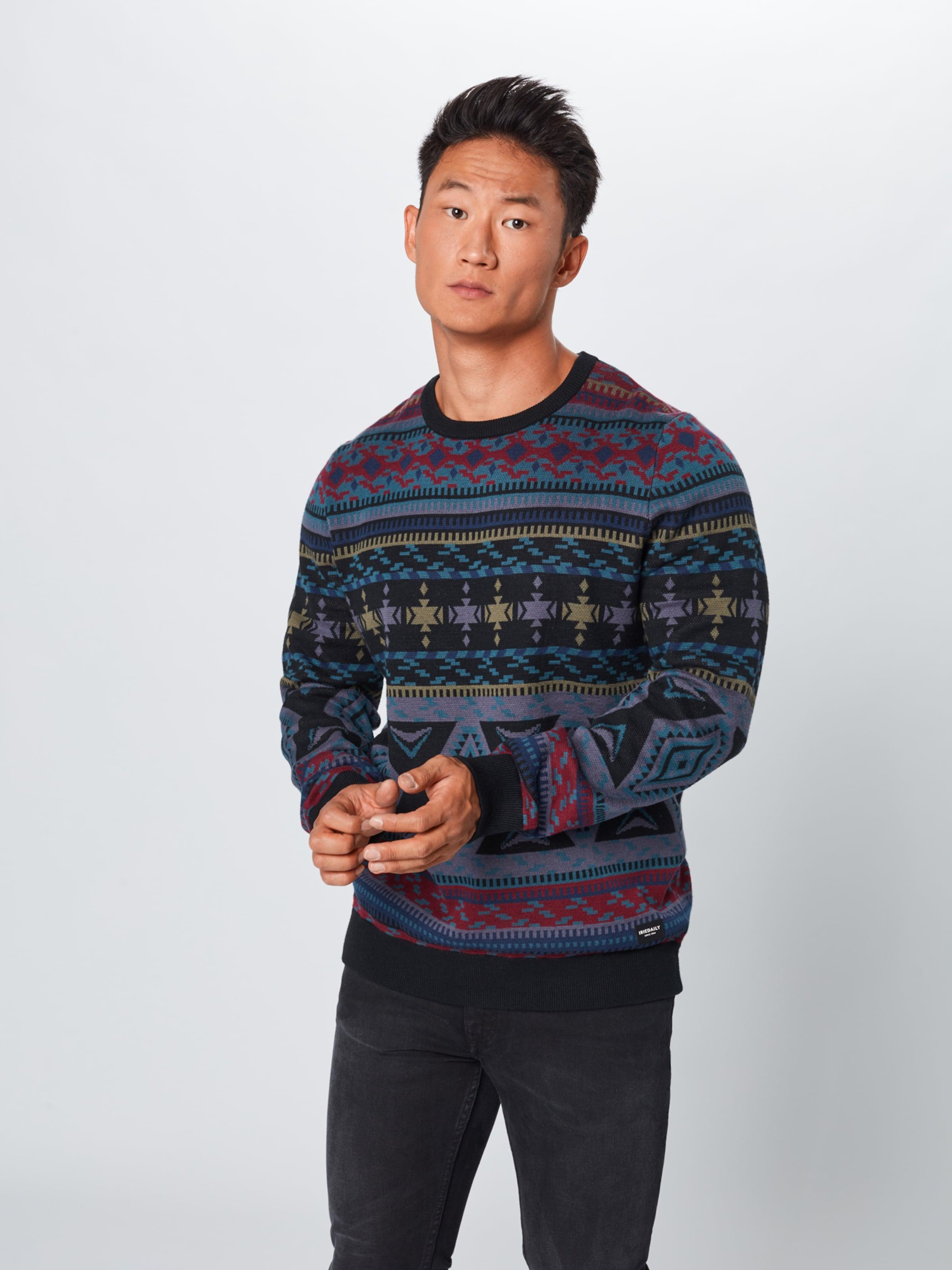 Iriedaily TaubenblauMischfarben In In TaubenblauMischfarben Pullover Iriedaily Pullover eEHY9WID2b