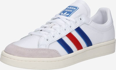 ADIDAS ORIGINALS Baskets basses 'Americana' en bleu / rouge / blanc: Vue de face