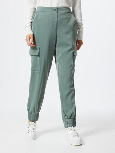 VERO MODA Klapptaskutega püksid 'Paula' pastellroheline, Modellivaade