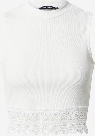 fehér Trendyol Stick felső: Elölnézet