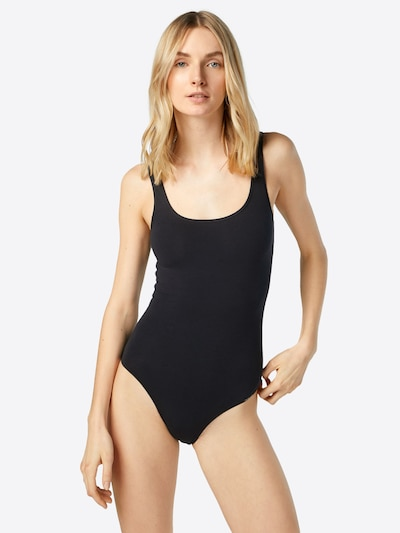Skiny 'Body   Collection' Body ohne Arm in schwarz: Frontalansicht
