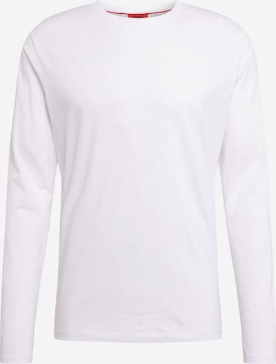 HUGO T-Shirt 'Derol202' en blanc, Vue avec produit