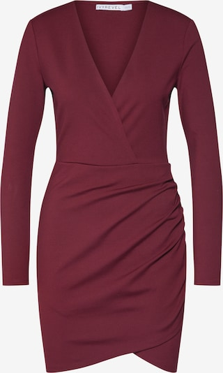 IVYREVEL Robe 'V FRONT DRESS' en bourgogne, Vue avec produit