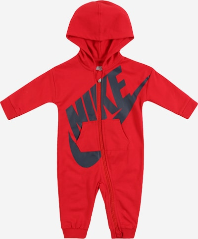 "Nike Sportswear Einteiler 'BABY FRENCH TERRY""ALL DAY  PLAY"" COVERALL' in rot, Produktansicht"