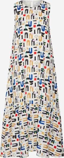 EDITED Kleid 'Jayla' in mischfarben / weiß, Produktansicht