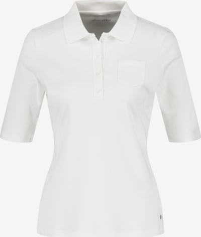 GERRY WEBER Poloshirt in weiß, Produktansicht