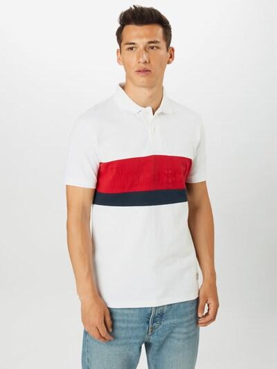 TIMBERLAND Särk punane / must / valge: Eestvaade