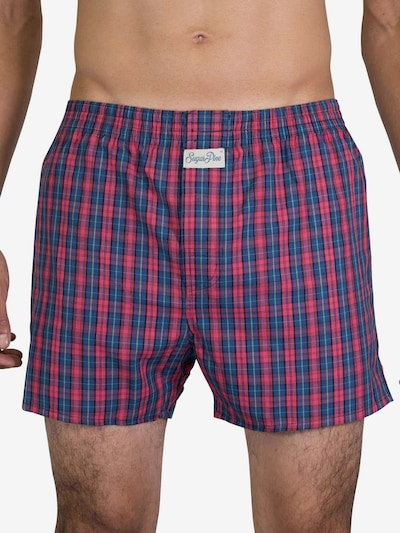 Sugar Pine Boxershorts 'Classic Check' in pink, Modelansicht