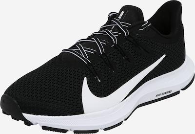 NIKE Sportschuh 'Quest' in schwarz / weiß, Produktansicht