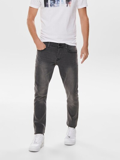 Only & Sons Jean en gris denim: Vue de face