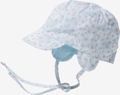 STERNTALER Schirmmütze in opal / hellblau / helllila / rot / weiß, Produktansicht