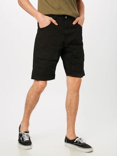 Urban Classics Cargo hlače 'Performance' u crna: Prednji pogled
