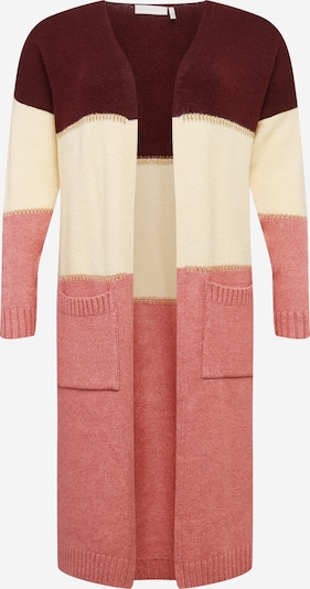 Guido Maria Kretschmer Curvy Collection Cardigan oversize 'Adriana' en rose, Vue avec produit