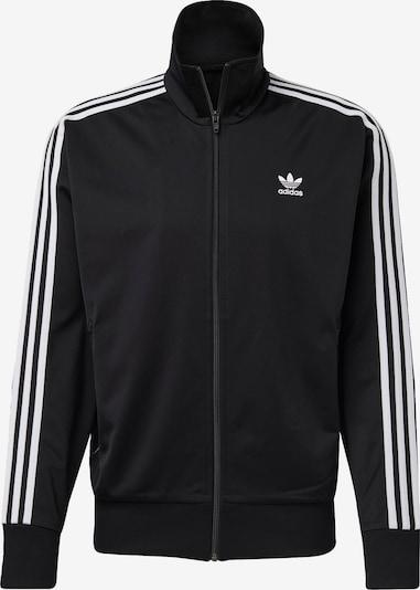 ADIDAS ORIGINALS Jacke 'Firebird' in schwarz / weiß, Produktansicht