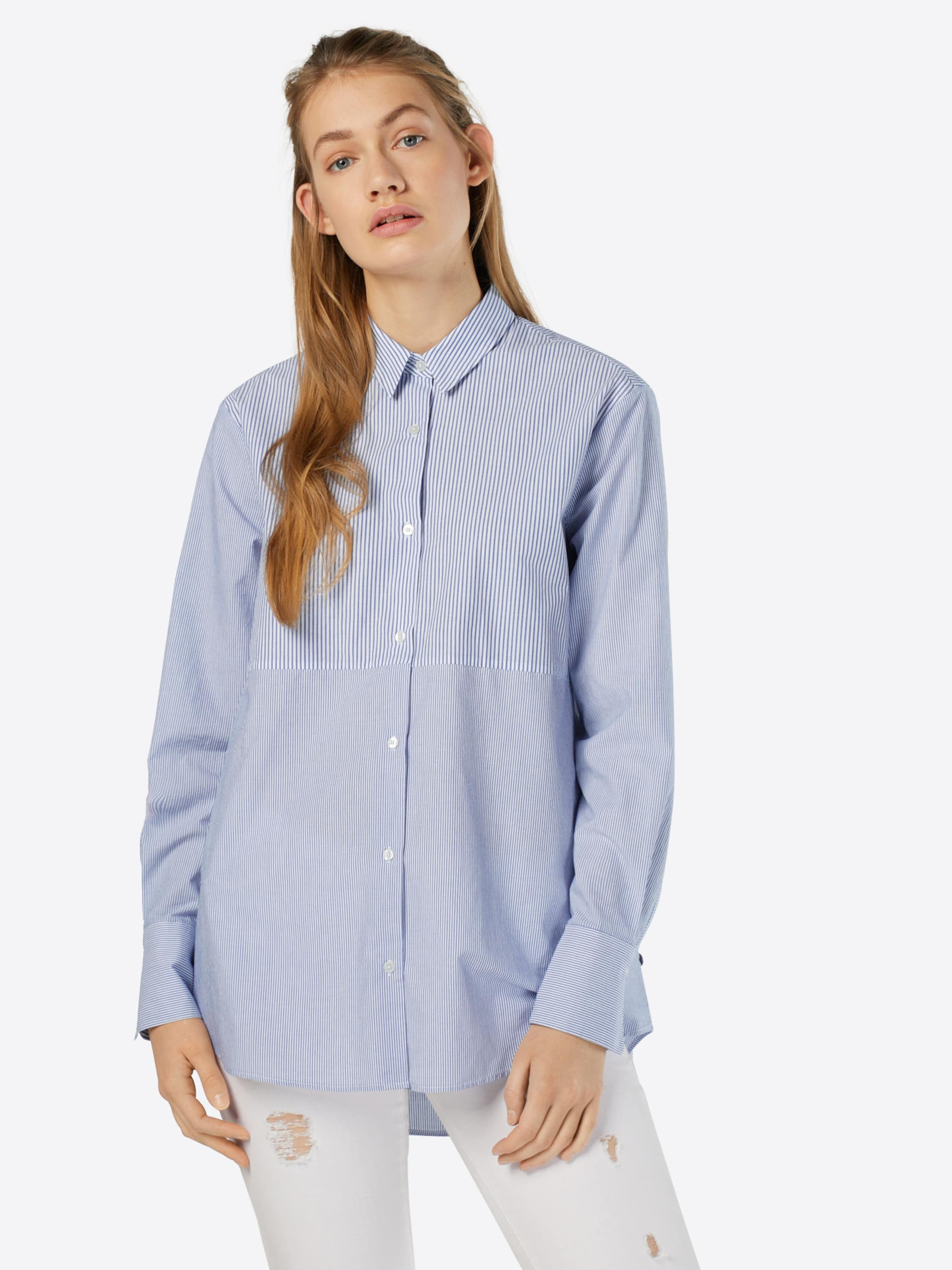 Pepe Jeans Bluse 'OEIL' Niedrigster Preis Verkauf Online Grau-Outlet-Store Online 7T9PMe