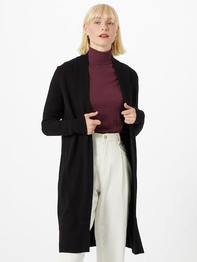 COMMA Strickmantel in schwarz, Modelansicht