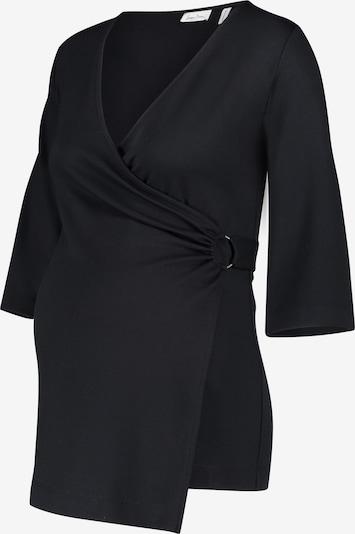 QUEEN MUM Shirt in schwarz, Produktansicht