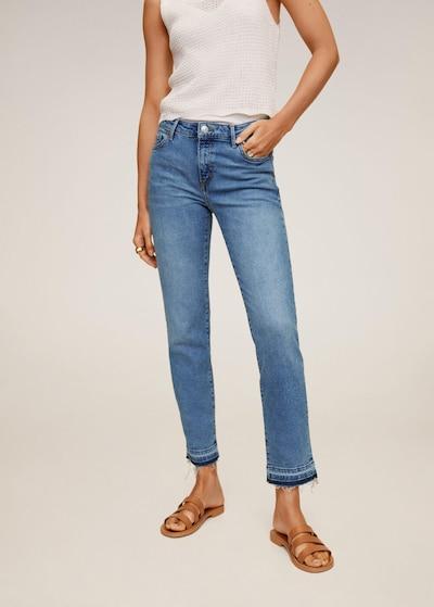 MANGO Jeans 'Grace' in blue denim, Modelansicht
