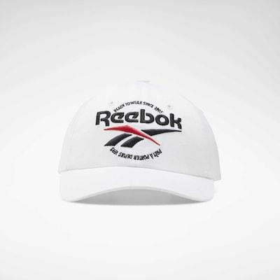 Reebok Classic Cap 'CL Graphics RTW' in rot / schwarz / weiß, Produktansicht