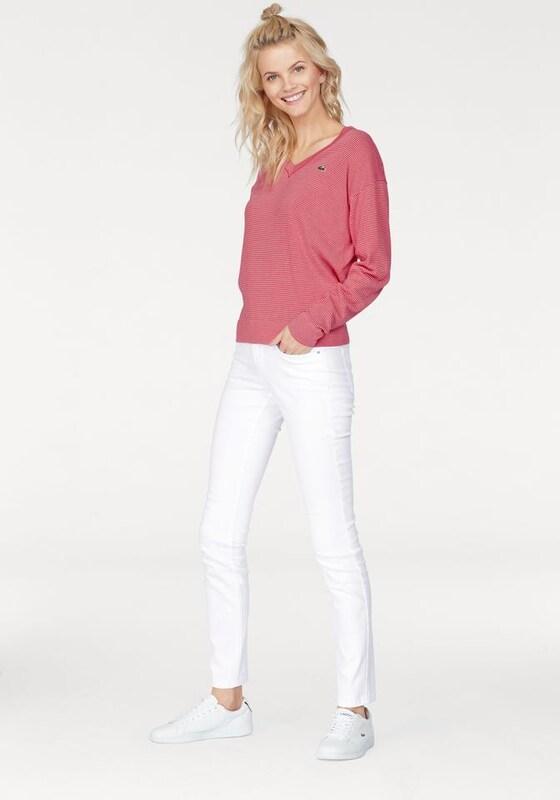 LACOSTE Lacoste V-Ausschnitt-Pullover
