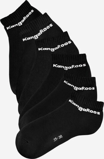 KangaROOS Socken in schwarz, Produktansicht