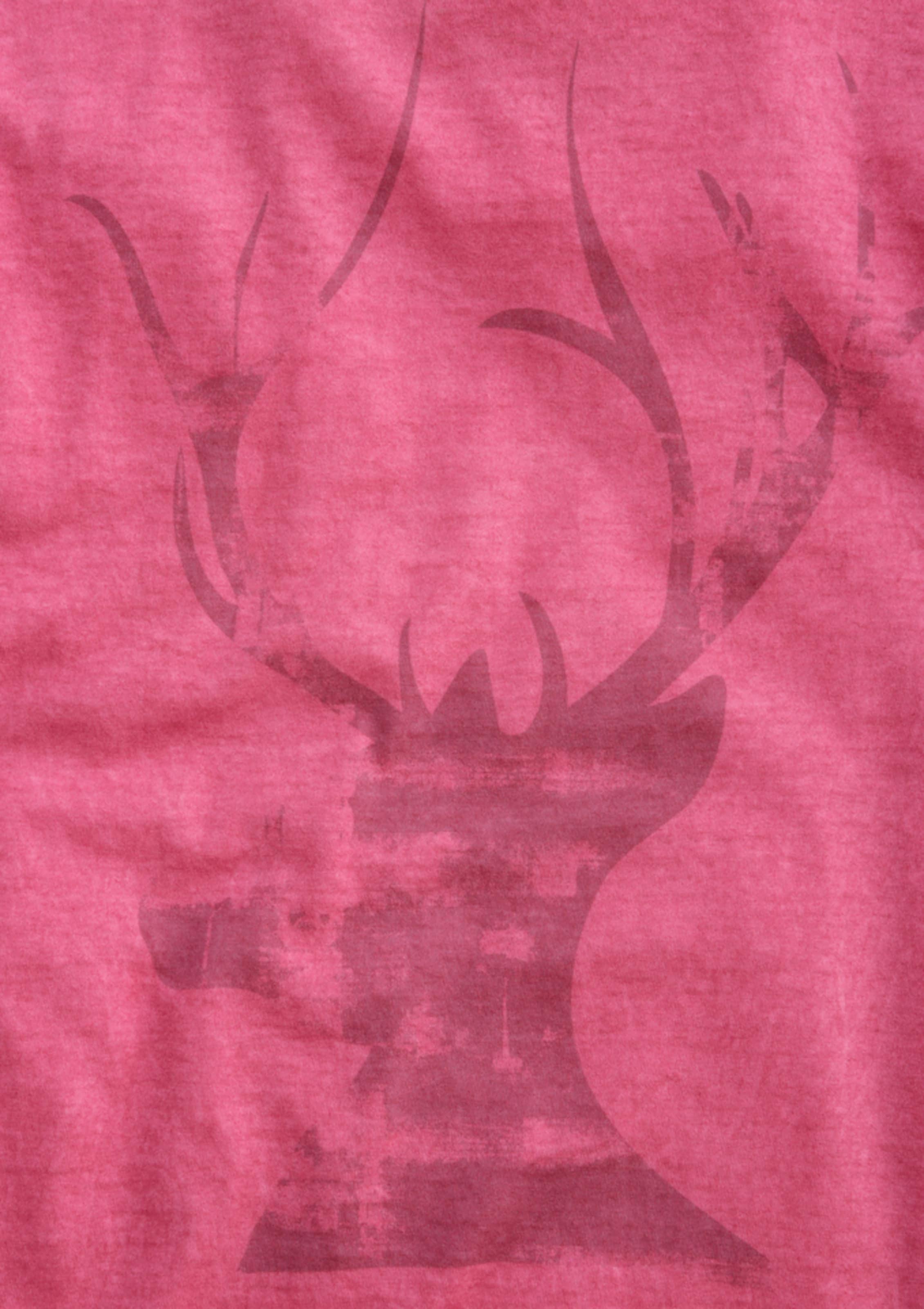 Pink Herren Look In Trachtenshirt Mondkini Im Batik N80PnOkXw
