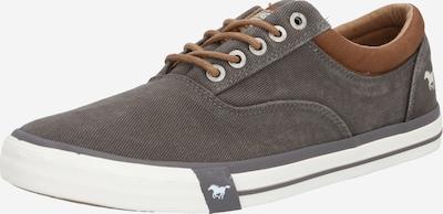 Batai su raišteliais iš MUSTANG , spalva - ruda / tamsiai pilka, Prekių apžvalga