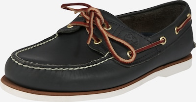 TIMBERLAND Mocassins 'MEN'S 2 EYE BOAT SHOE' in de kleur Kobaltblauw, Productweergave