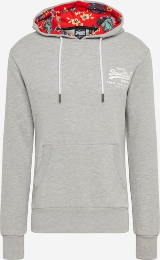 Superdry Sweatshirt in graumeliert / mischfarben, Produktansicht