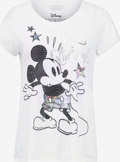 Frogbox T-Shirt 'Mickey' in weiß, Produktansicht