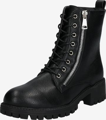 ABOUT YOU Μποτάκι με κορδόνια 'Marit Shoe' σε μαύρο