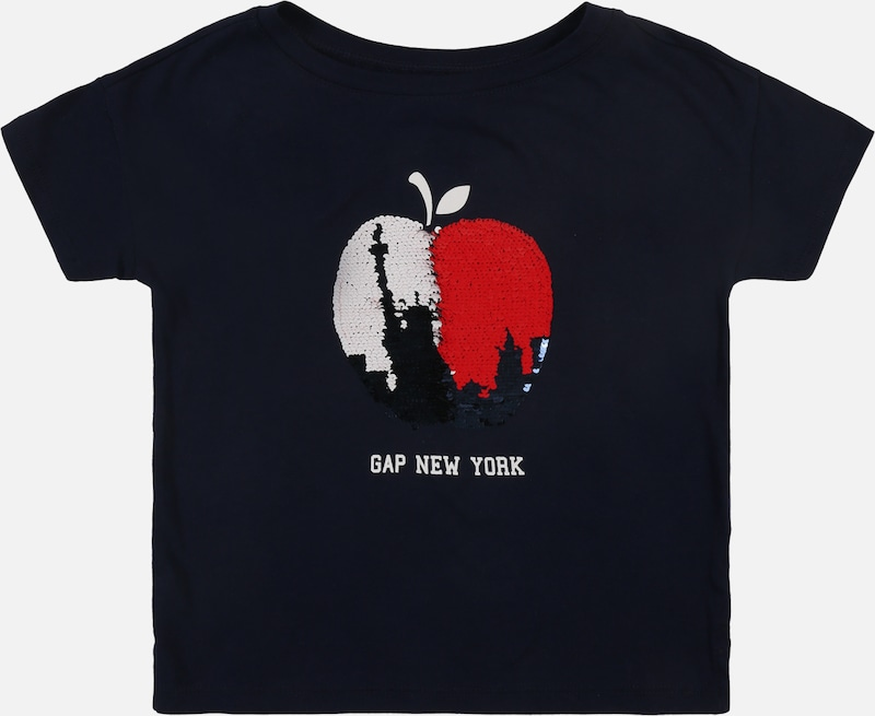 GAP Shirt 'CITY' in navy, Produktansicht
